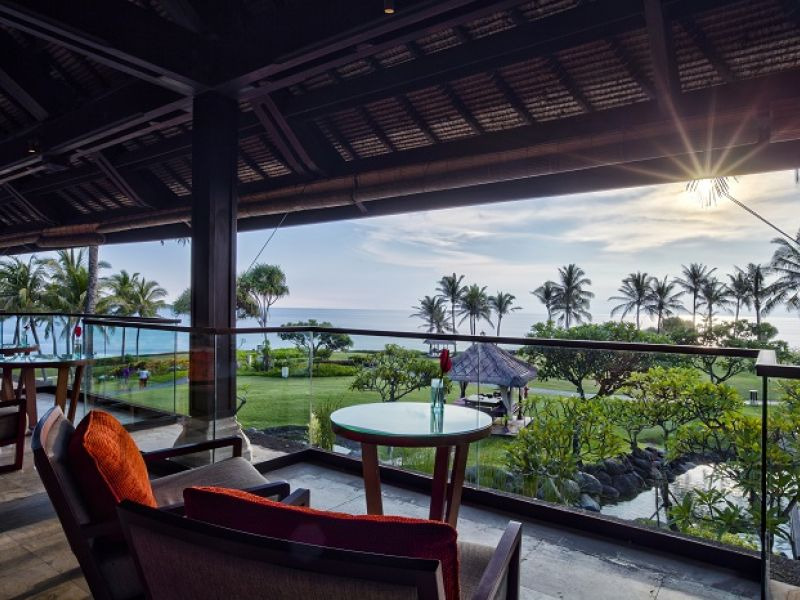 Sunset Lounge at Pan Pacific Nirwana Bali Resort